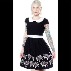 Nwt Sourpuss creepy crawlers dress